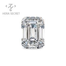 ForeverFlame G H Emerald Cut diamond CVD CZ Moissanite
