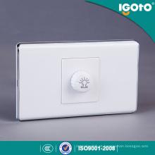 Interruptor de parede de dimmer elétrico estilo americano 300W 630W 220V