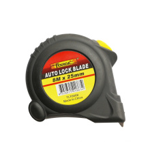 Hohe Qualität 8m Auto Lock Stahlbandmaß mit doppelt markierten Klinge