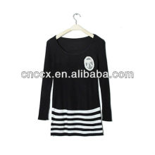 PK17ST251 patch bordado camisola de malha vestidos de festa para meninas de 18 anos de idade
