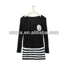 PK17ST251 партии патч вязаный свитер с вышивкой платья для девочек 18 лет
