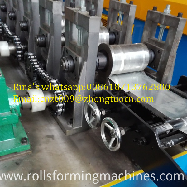 gear box transmission shutter door roll forming machine  7