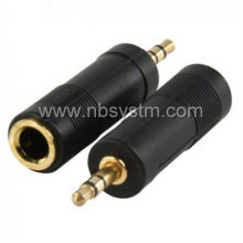 3.5mm stereo plug male to 6.35mm stereo,mono socket female adapter