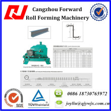 QJ-100-350 Z Purline Roll Forming Machine