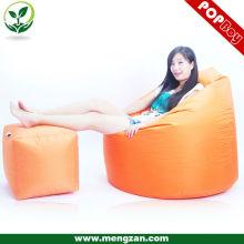 Chaise sectionnelle en sac de haricot