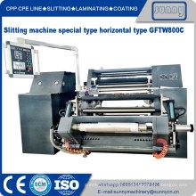 Máquina de corte de rodillos de película de PE BOPP