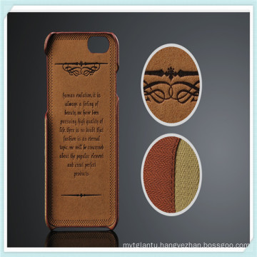 Luxury PU Multi-Credit Card Slot Leather Case for iPhone6