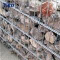 Коробка gabion 4x1x1 Размер отверстия 50mm Сварной сетки габионных низким для сохраняя стены