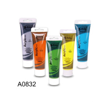 High Quality Non-toxic 100ML Acrylic Art paint