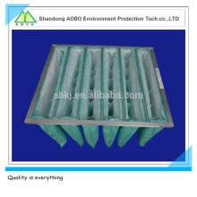 Efecto del filtro de aire del filtro de bolsa / F6 Filtro de aire del bolso de bolsillo