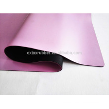 Rosa PU Yoga Matte, Schweiß Absorption Gummi PU Yoga Mat