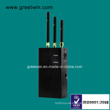 WiFi Bluetooth Jammer / Wireless Kamera Jammer / Handy Jammer (GW-JN3)