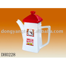 Factory direct wholesale 17OZ ceramic teapot