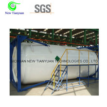 800m3 / H Gas de suministro de gas natural licuado contenedor tanque medio