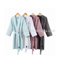 Luxury long elegant hotel bath robes for wholesales