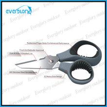 13cm Multi-Fuction Angeln Scissor mit geflochtener Linie Cut-Funktion