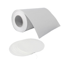 Membrana de filtro de fibra de vidrio para laboratorio