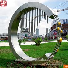 2016 Nouvelle statue moderne Sculpture urbaine Cas de réussite