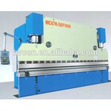 Пресс-тормоз 400 тонн механическая плита