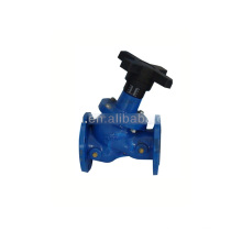 pneumatic control valves DIN3202-F1 MSS-SP-85 Ductile Iron Seal Flanged Globe Valves