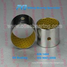 Strip Steel POM, Marginal Lubricating Bearing Bushing Rod bearing DX Dry Bearing, Boundary Lubricating Bush