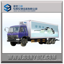 20t Dongfeng 6X4 Refrigerated Van Truck