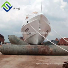 France Navy Vendor Giant Barge Ship Drydocking Launching Airbags for Construction Sites