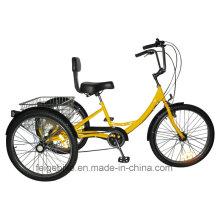 """Tricycle durable de bagage de pneu de tricycle de cargaison de cargaison des USA 20 """"/ 24"""" (FP-TRB-01)"""