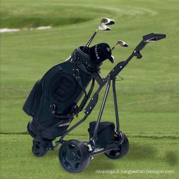 Propulsion électrique pliant de voiturette de Golf manuel avec frein (DG12150-D)