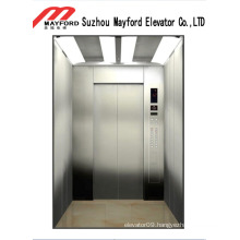 Luxury Mirror Stainless Steel Passenger Elevator with Machine Roomless