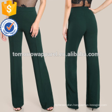 High Rise Piped Dress Pants Manufacture Wholesale Fashion Women Apparel (TA3081P)