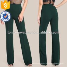 Alto Rise Piped Vestido Calças Fabricação Atacado Moda Feminina Vestuário (TA3081P)