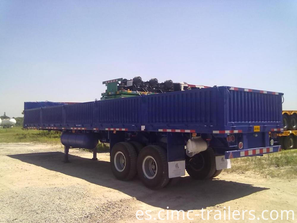 Lr 40 Two Axle Sideboard Semi Trailer