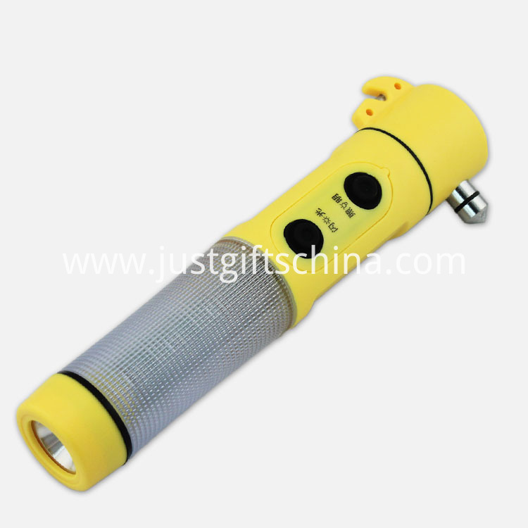 Promotional Automobile Imprinted Hammers & Flashlight Multifunction Tools