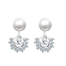 Les 10 meilleurs modèles de boucles d'oreilles en perles d'eau douce d'origine naturelle 8-9mm