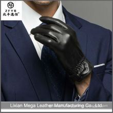 High quality cheap custom leather glove engraving laser engraver