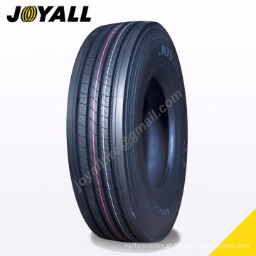 JOYALL fábrica chinesa TBR pneu A8 super sobre carga e resistência à abrasão 11r22.5 para o seu caminhão