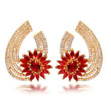 joyas de oro de dubai pendientes madres días joyas oro plateado pequeños pendientes