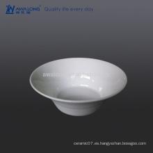 Tazón de porcelana fino de diseño único, tazón de fuente para el arroz y la ensalada