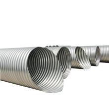 large diameter corrugated steel pipe seamless galvanized steel tube