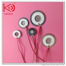 10mm 185kHz Ultrasonic Atomizer Ultrasonic Humidifier Peças peças de atomização ultra-sônica