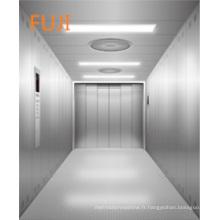 Ascenseur / ascenseur de fret utilisé dans l'immeuble de bureaux