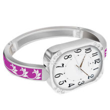 Fashionable watch bracelet with bag/purse hanger, ideal for women/ladies' gifts