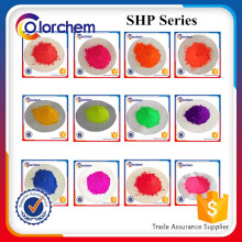Fluorescent Pigment powder for textile printing Ink and plastic coloring Fluorescent Pigment