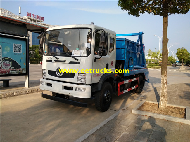 10m3 Swing Arm Garbage Trucks