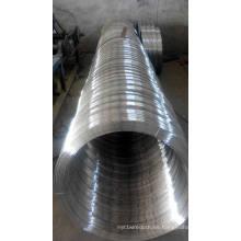 Alambre galvanizado óvalo 2.2X2.7mm para la cerradura de la granja