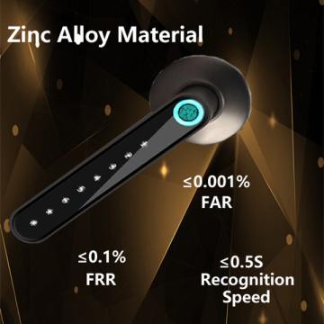 Impressão digital da alavanca personalizada e trava