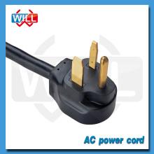 UL CUL América Canadá 50A 250V cable de alimentación exterior NEMA 6-50P
