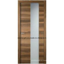 Portas de quarto Interior de madeira moderno vidro fosco