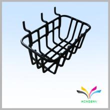 Gridwall, magasin de supermarché en fil noir